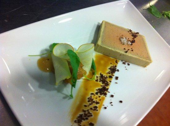Cancha II: the foie gras