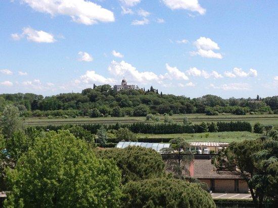 Radisson Blu Resort, Terme di Galzignano - Hotel Majestic: vista sui colli