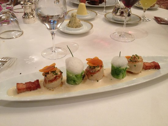 Le Cinq : Sea Scallops