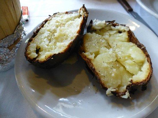 Ristorante Al Grottino: patata al cartoccio