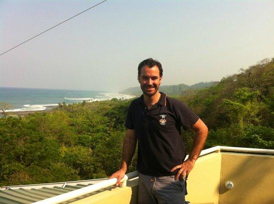 Hotel Moana : Vistas desde la terraza-comedor