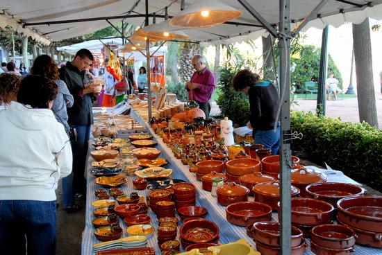 Blanes, España: Ferias artesanales / Foires artisanales