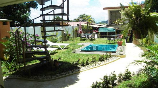 Hotel Casa Alegre / Posada Nena: Der wunderschöne Garten