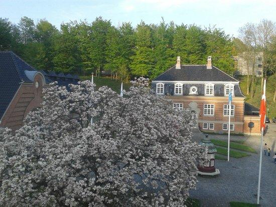 Hotel Koldingfjord: Udsigten fra værelse i Christians Palæ