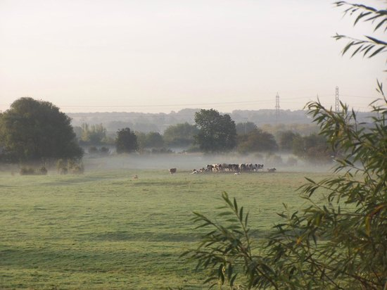 Shardlow, UK: A view from our room