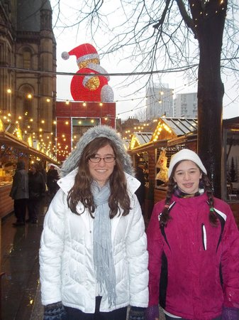 Premier Inn Manchester City Centre - Portland Street: Nearby Christmas Market