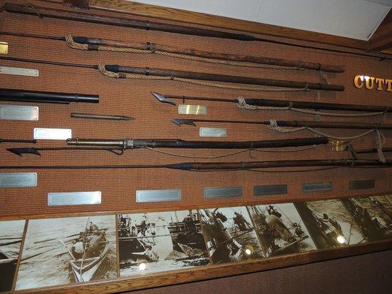 Whalers Village Museum : Waffen