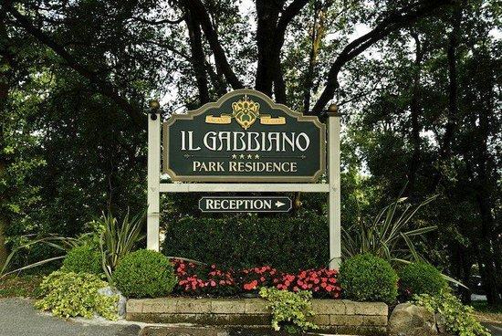Park Residence Il Gabbiano : Park sign