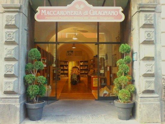 Gragnano, Italy: Ingresso Maccaroneria