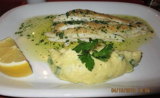 Doyle's Seafood Restaurant: black sole at Doyle's