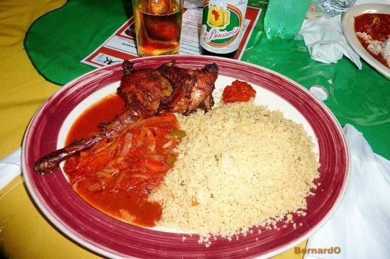 Restaurant Chez Maman Benin Cotonou