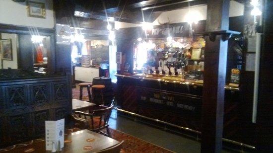Pied Bull Inn: The Bar area