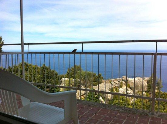 El Encinar Valldemossa Hotel: Blick aufs Meer (aus dem Neubau)