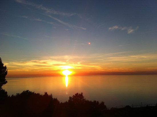 El Encinar Valldemossa Hotel: Sonnenuntergang vom Balkon aus