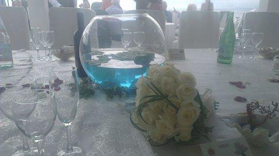 Mar Hotel Alimuri Fantastic Table Decorations Thank You Ilaria