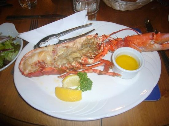 Lord Baker's: half lobster at Lord Baker