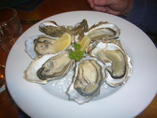 Lord Baker's: cromane bay oysters at Lord Baker