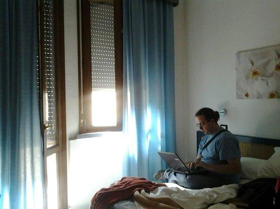 Albergo Rossella: una delle stanze dell'albergo