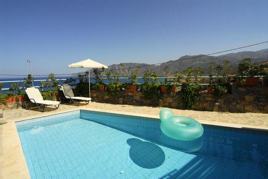 Mohlos Villas: Villa Mousses Pool