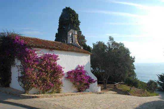 Blanes, España: Ermita Sant Francesc / Chapelle Sant Francesc