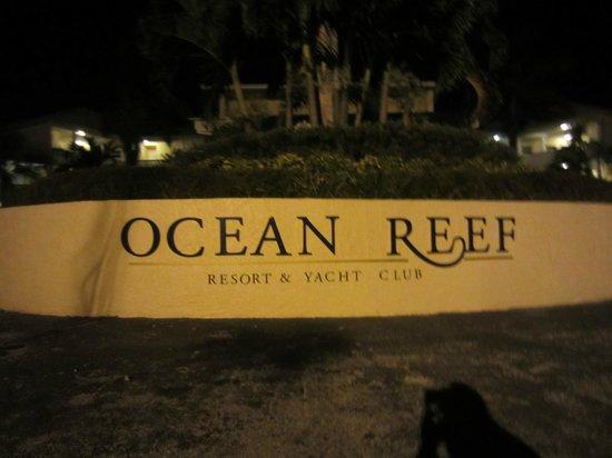 Ocean Reef Yacht Club & Resort: Ankunfsbereich