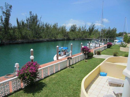 Ocean Reef Yacht Club & Resort: Blick vom Balkon