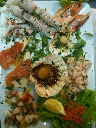 Ristorante Pizzeria Panorama: antipasto di pesce