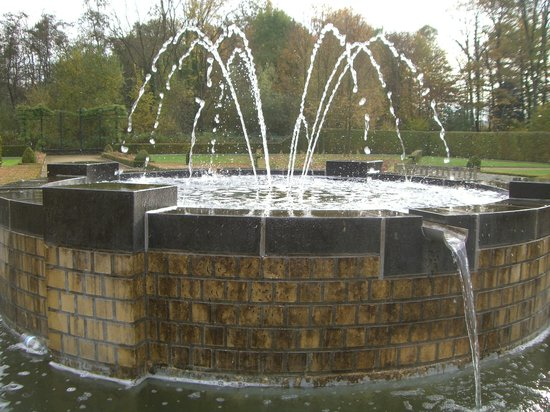 Kasteel Terworm: Fountain