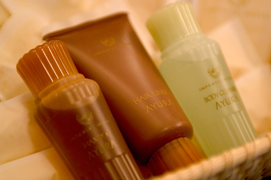 Imperial Hotel Tokyo : Amenity for the Imperial Floor