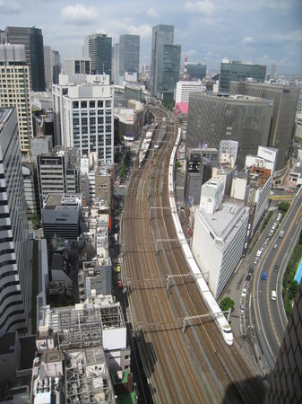 Imperial Hotel Tokyo : View (Ginza side image)