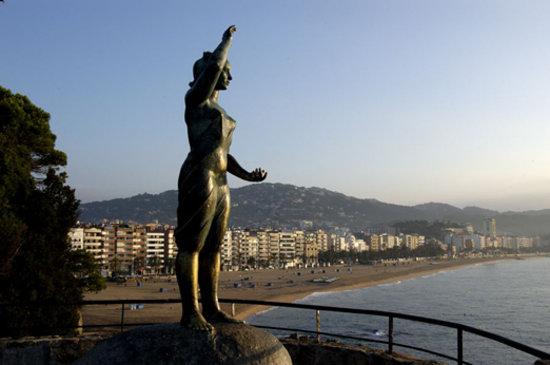 Mujer Marinera en Lloret de Mar (Costa Brava)