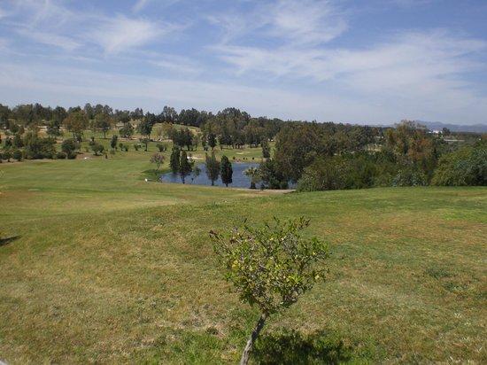 Golf Yasmine : Blick auf den kleinen See