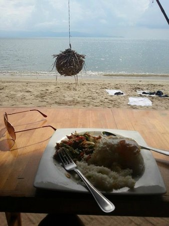 Hansa Beach Resort: lunchtime