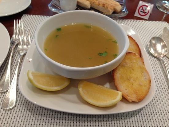 waves: seafood soup