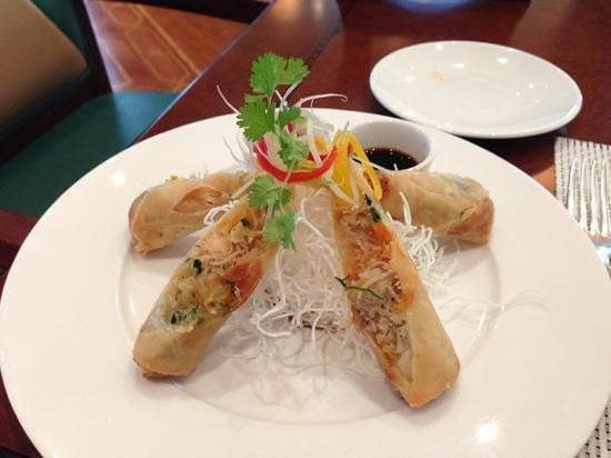 waves: shrimp rolls
