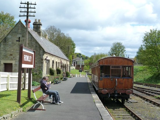 Beamish Museum: The railway station for short rides