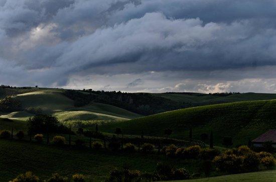 Agriturismo Il Rigo: Aus dem Fenster fotografiert