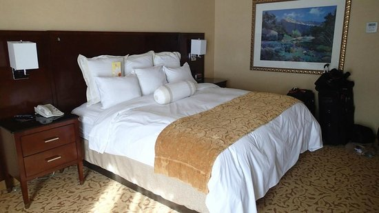 Park City Marriott: King size bed