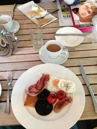 Bridge House Hotel : The Full English Breakfast!