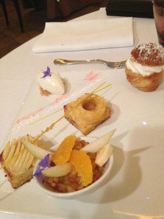 Le Bistro des Capucins: le dessert