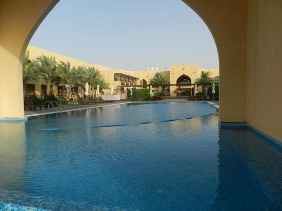 Tilal Liwa Hotel: View of pool.