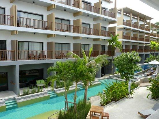 Deevana Plaza Krabi Aonang: une partie de l'hôtel