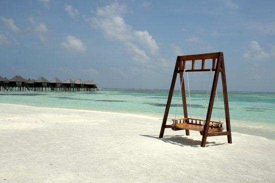 Olhuveli Beach & Spa Maldives : plage