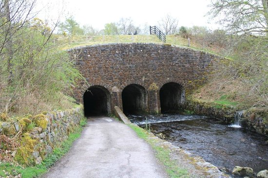 Torcastle House B&B: Tunnel under the Caledonian canal