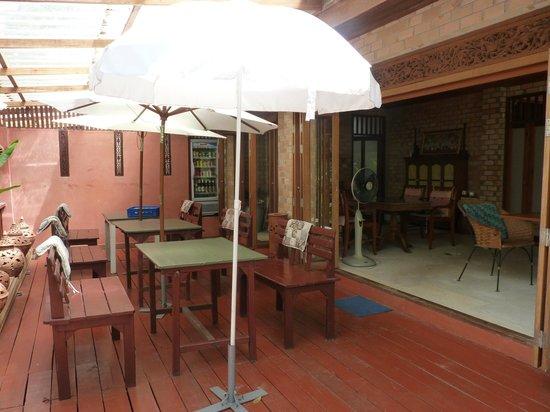 Seapines Villa Liberg: salle du petit déjeuner