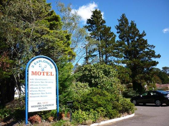 3 Explorers Motel: Aussenansicht