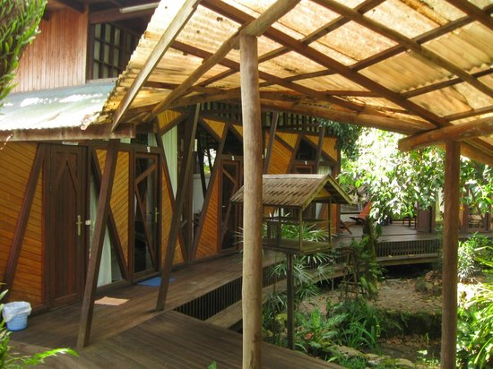 Bukit Raya Guesthouse : The great design of the guest house makes it unique, it's a one of it's kind.