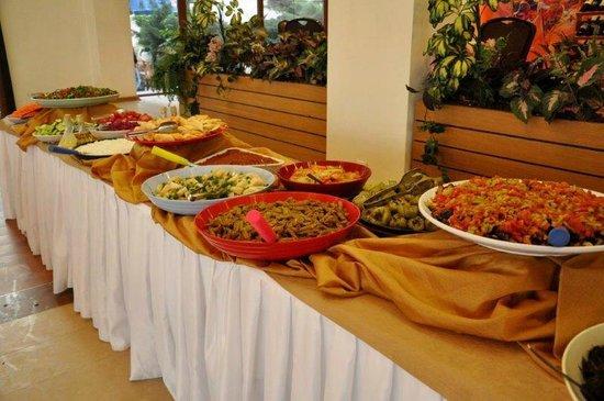Berksoy Hotel: Open buffet
