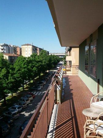 B&B Maricla : balcone vista stadio
