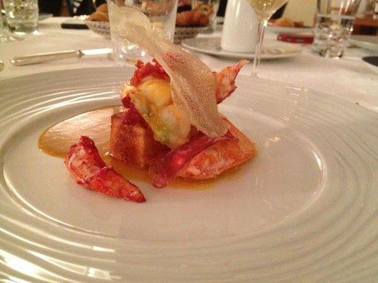 L'Auberge des Glazicks : Le homard breton...